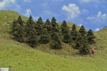 ТТ наборы деревьев, сосны, 38 / В1 / ТТ, 20 шт.