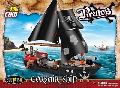 COBI Pirátskej Lodi Corsair 320 snímok (6020) / Klock