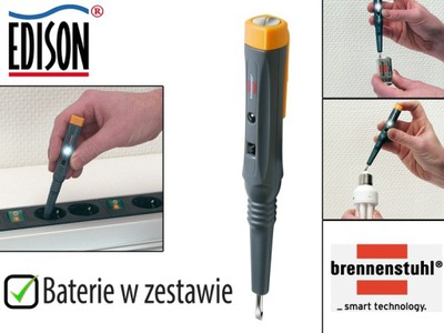 Detektor kablov - BRENNENSTUHL Elektronický multi-tester 1297150