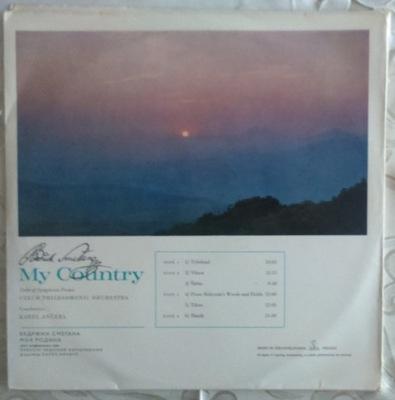 BEDRZICH SMETANA - MY VLAST (2 LP)