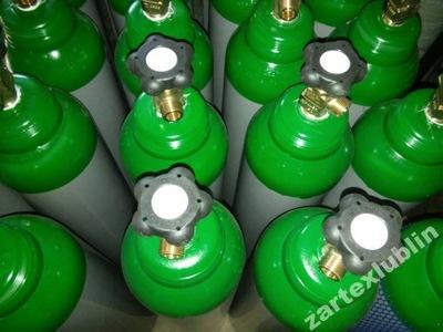 Баллоны 8L бутылка новые Ar микс ,Смесь,Аргон,СО2