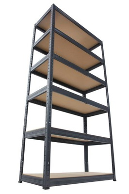 Regál - polica -  Zásobníková kovová polička Premium 213x100x30 6p 1G