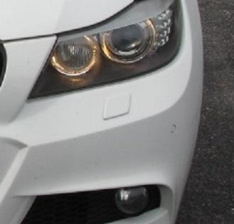 КРЫШКА ЗАГЛУШКА ОМЫВАТЕЛЯ ФАР BMW 3 E90/ E91 LIFT M-PAKIET