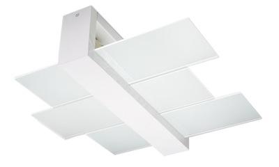 Svietidlá stropné svietidlá - Designerski plafon FENIKS 2 biały lampa sufitowa