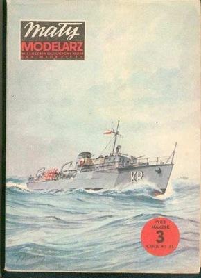 MM 3/1983 Polski tralowiec redowy KORMORAN