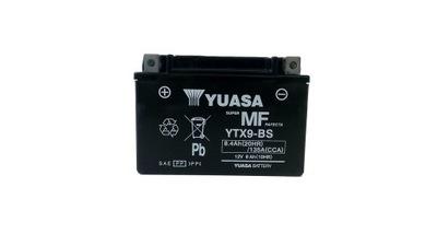 AKUMULATOR YUASA MOTOCYKLOWY YTX9-BS 12V 8Ah