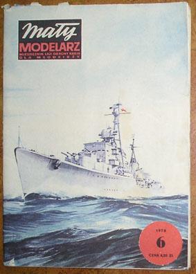 MM 6/1978 Niszczyciel ORP