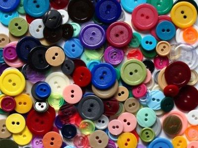 пуговицы цветные - 3 размер - 500 штук /16 ,50
