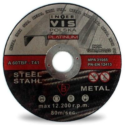 диск ??? РЕЗКИ МЕТАЛЛА диски 125x1 I-V PLATINUM