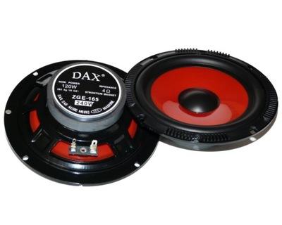Głośniki samochodowe DAX ZGE-165 240W WOOFER 165mm