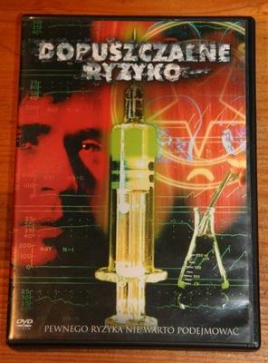 DOPUSZCZALNE RYZYKO      DVD