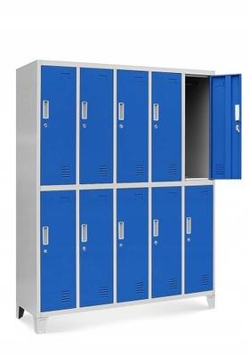 Социальная шкаф на одежда BHP металлическая опора  НОВАК