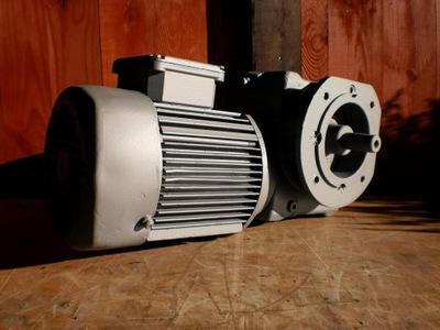 silnik elektryczny 1,1 kw motoreduktor 110 obr