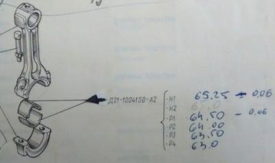 PANEWKI WAŁU KORBOWEGO PANEWKA T25 T-25 WŁADYMIREC