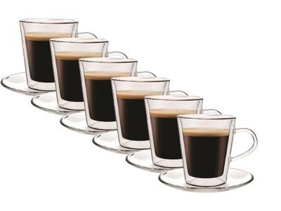 Pohár tepelnej kávovar, káva Doppio 6pcs