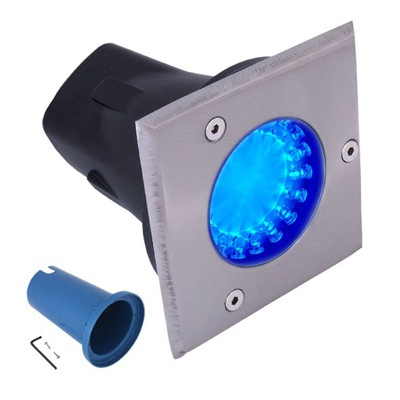 Lampa dogruntowa 18xLED Lampa 9W vstavané svetlo IP65