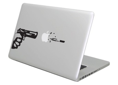 Naklejka na Macbooka Apple 11-17'' - GUN