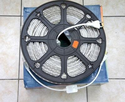 100m LED PÁSY svetla SMD-5050, FARBA: BIELA CHLADNÝ/teplý