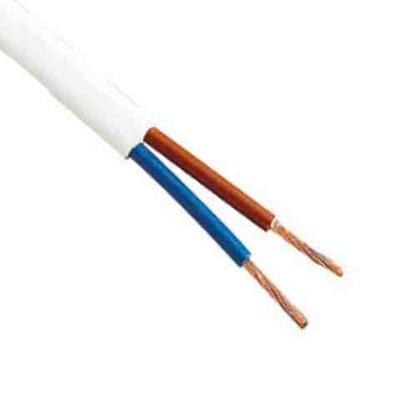 Kábel H03VV-F(2x1 OHM,biela, 100m kolo 5
