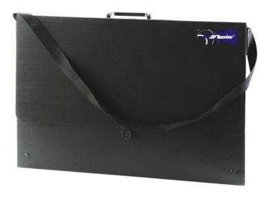 Teczka na Rysunki czarna B2 (730x520x35mm) LENIAR