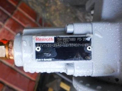 silnik elektryczny 5,5 pompa  hydrauliczny Rexroth