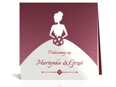 Laserowe Zaproszenia ślubne Na ślub Tanio Nowość 6775314013 Allegropl