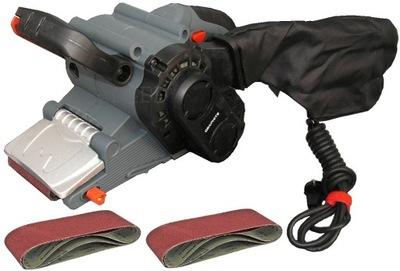 Brúska - Pásová brúska GRAPHITE 59G392 800 W + 6 pások