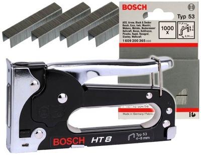 СТЕПЛЕР ручной HT 8 Bosch + 1000 скобы Bosch