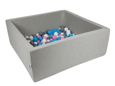 Сухой бассейн с мячиками 300 штук 110 x 110 x 40