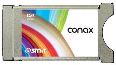 Moduł CI CAM z CONAX SMIT Smart HD + kablówka TNK