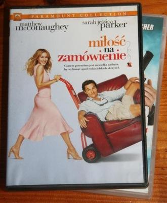 MIŁOŚĆ NA ZAMÓWIENIE      DVD