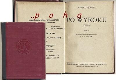 Po wyroku 1926 Robet Hichens