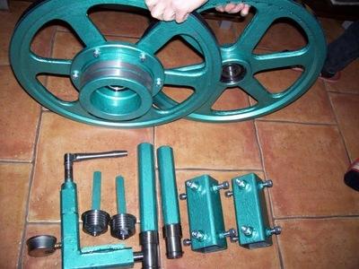 trak taśmowy  - napinacz hydrauliczny z manometrem
