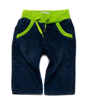 abc22be430ee19 Spodnie jeans Name It r. 134, limonkowe, JAK NOWE - 7629670272 ...