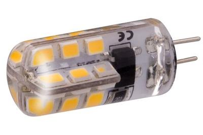 Лампа LED G4 SMD 3 ,2 мини силикон ТЕПЛА 12 в ПОСТОЯННОГО тока