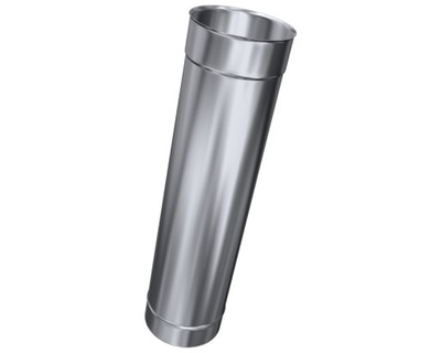 1 mm antikorózne Rúrka-NEREZ-fi 250 ODPADOVÝCH systém
