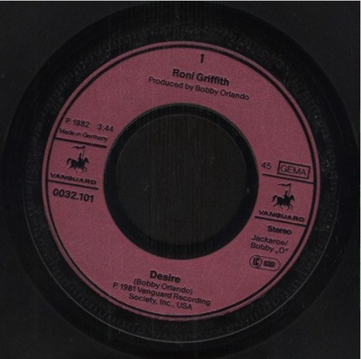 RONI GRIFFITH - DESIRE - I WANT YOUR LOVIN'