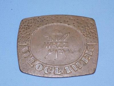 металлическая пластинка В знак признания за хорошую работу  ПНР