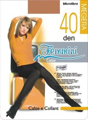 Femmini MEGERA 40den rajst.microfibra 30 kolor.4-L