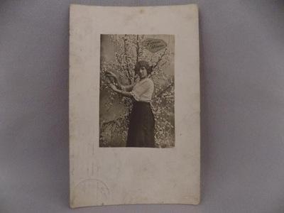 открытка FROHLICHE Pfingsten 1913r