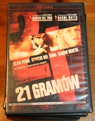 21 GRAMÓW     DVD