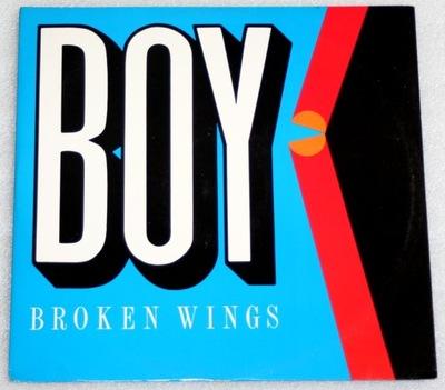 BOY - BROKEN WINGS - MAXI 1989 - ITALO DISCO RAR !