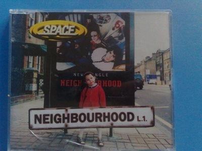 SPACE - NEIGHBOURHOOD CD synth-pop indie rock