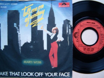 MARTI WEBB - TAKE THAT LOOK OFF YOUR FACE - SHELDO
