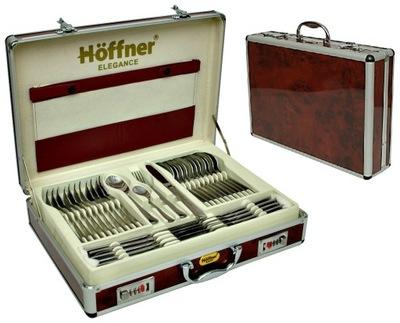 Столовые ПРИБОРЫ комплект 72 элем 12 ЧЕЛОВЕК Хоффнер сатин серебро