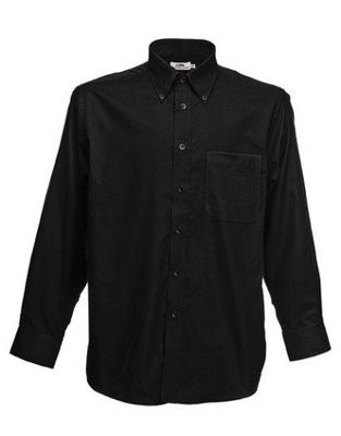 Men Oxford L/S Shirt Black M