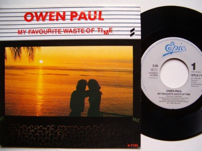 OWEN PAUL - MY FAVOURITE WASTE OF TIME - JUST ANOT