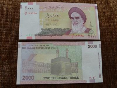 159.IRAN 2000 RIELI UNC