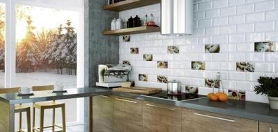 BISEL KAFEL 10x20 cegiełka jak IKEA, biała matowa