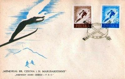 Fi 858 ab FDC - XII Мемориал Чеха и он расположен